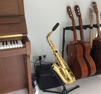 tenorsaxofoon van Itske Huberts