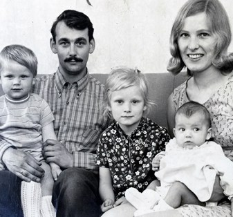 gezinsfoto Saskia van Barneveld