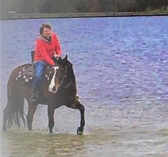Saskia van Barneveld paardrijden