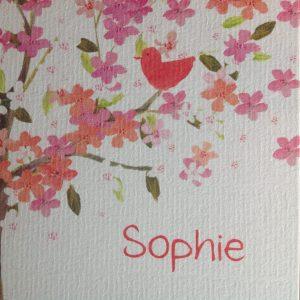 geboortekaart Sophie