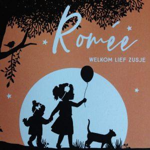 geboortekaart Romée