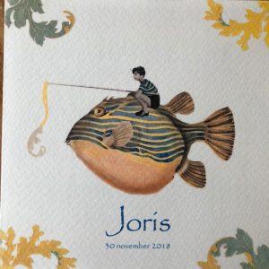 geboortekaart Joris