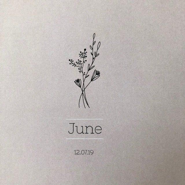 Geboortekaartje June Jasmijn
